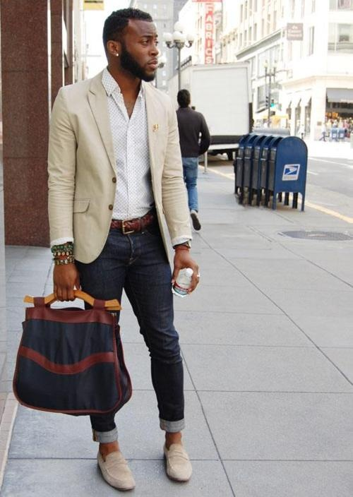 Casual Friday End Of Summer Masculine Style