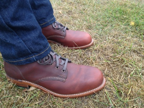 product review wolverine thousand mile boots