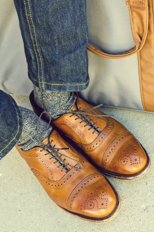 allen edmonds and jeans