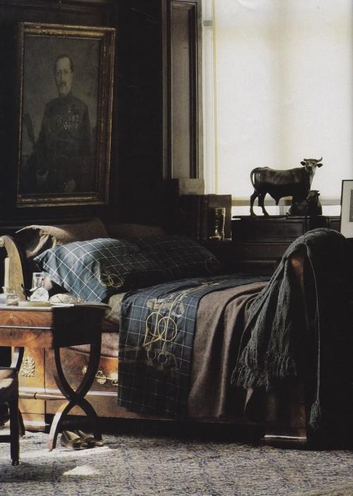 Refined Masculine Bedroom