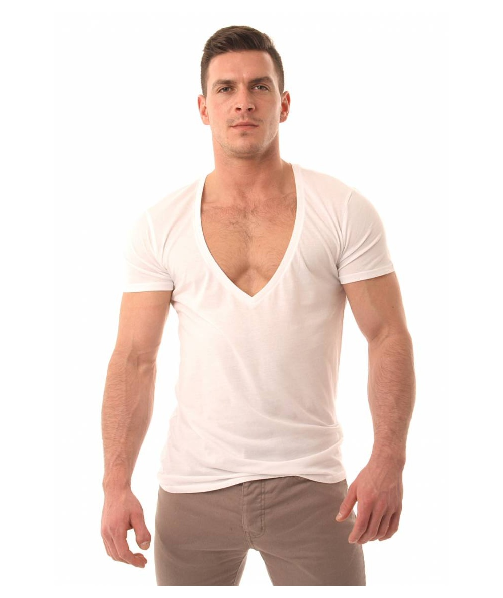 Super deep V-necks ... 0a8a095dc9b0