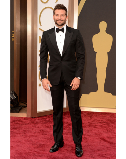 Bradley Cooper 2014 Oscars Red Carpet