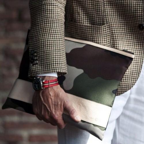 Camo Portfolio Bag