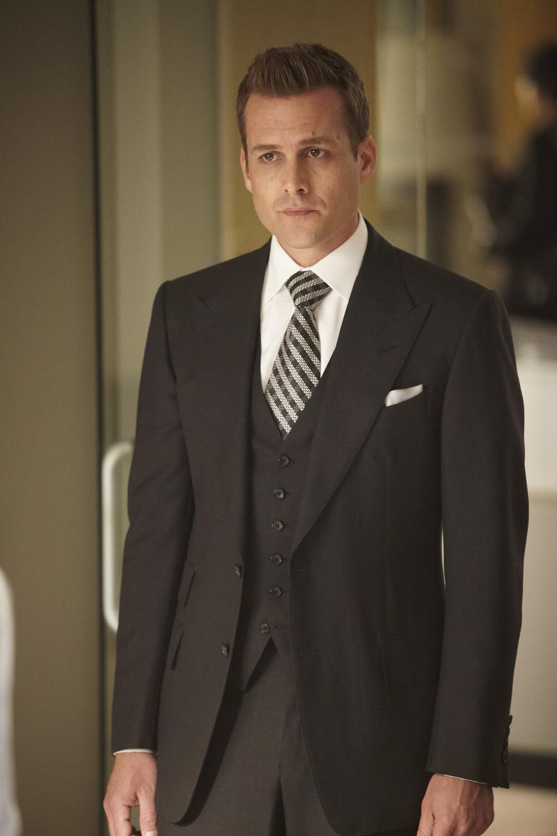 Harvey Specter Suits amp Haircut  Gabriel Macht Suit Style