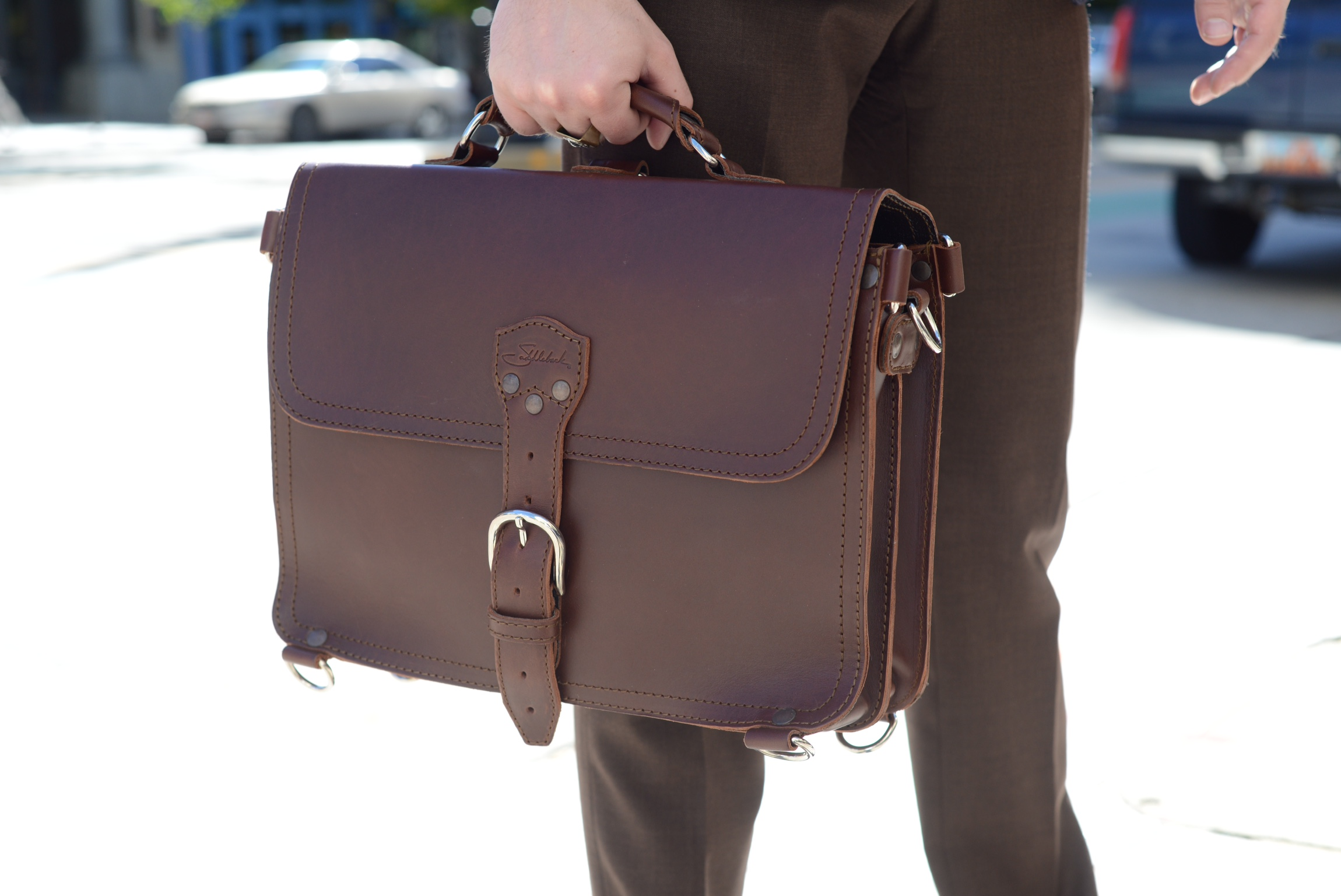 Saddleback Briefcase Review and Giveaway